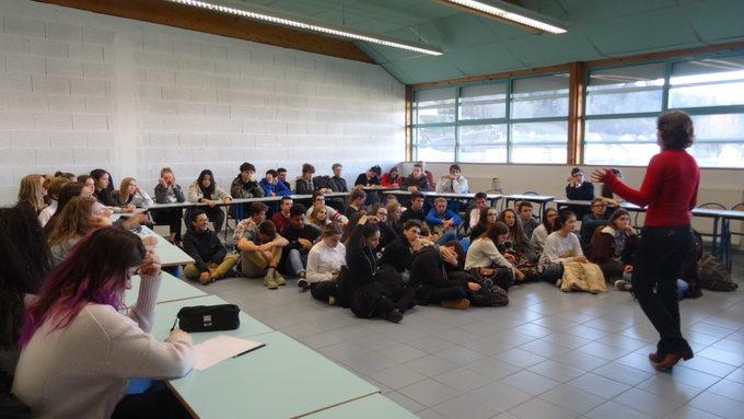Conférence locale au lycée de l'Albanais